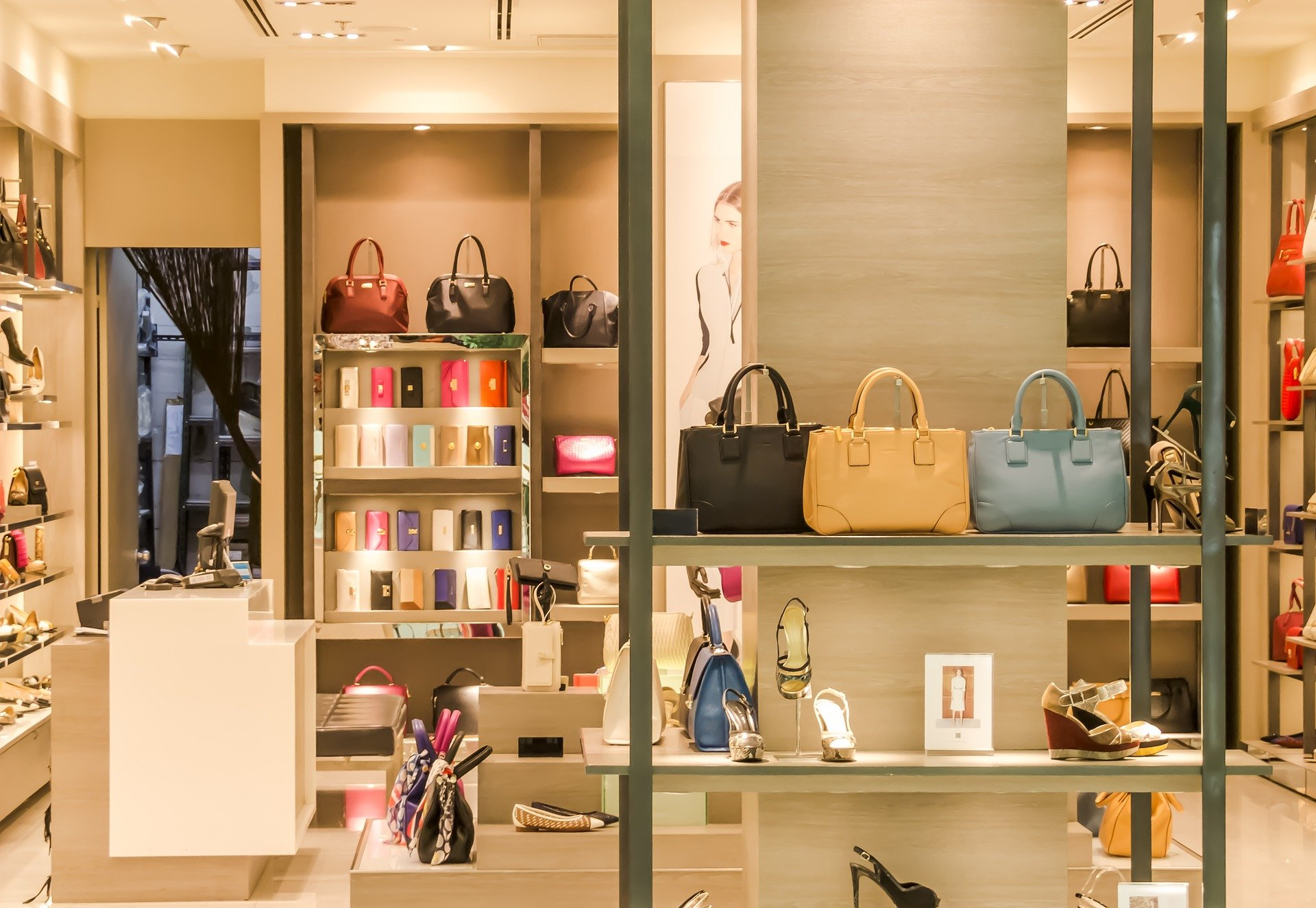 Wnętrze sklepu - przykładowa aranżacja